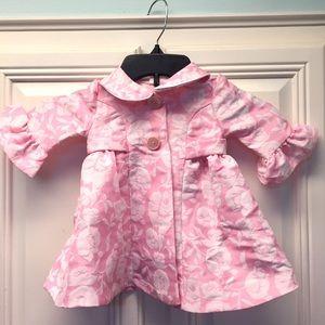 NWOT Bonnie Baby Floral Pea Coat